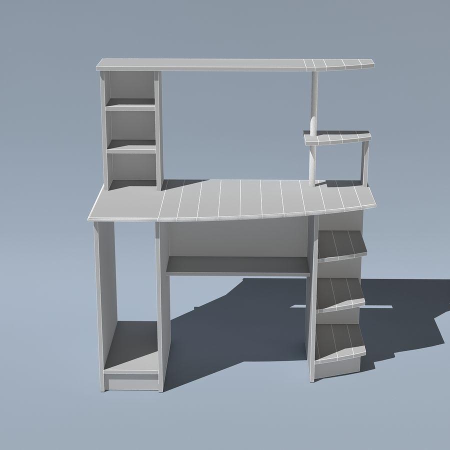Mesa de ordenador royalty-free modelo 3d - Preview no. 9