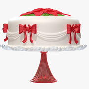 Holiday Cake 1 3d model