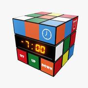 Cube Clock 3d model