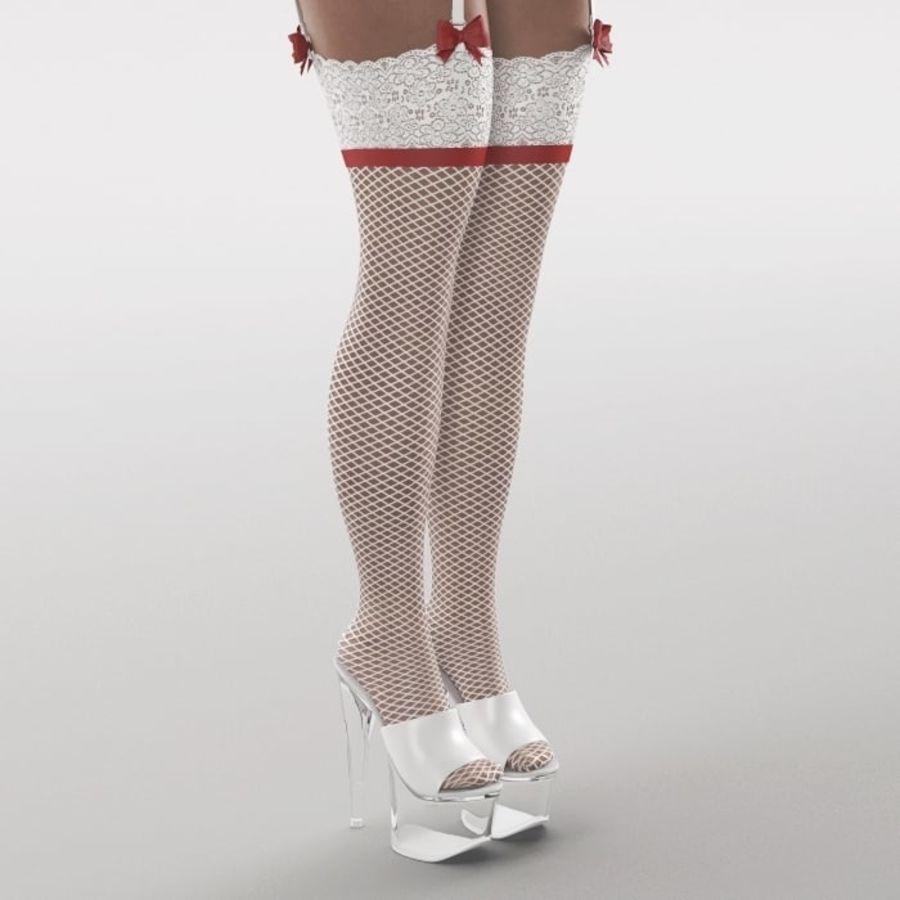 Ragazza sexy royalty-free 3d model - Preview no. 10