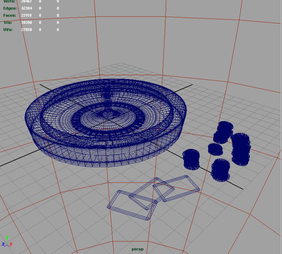 Escena de la ruleta royalty-free modelo 3d - Preview no. 4