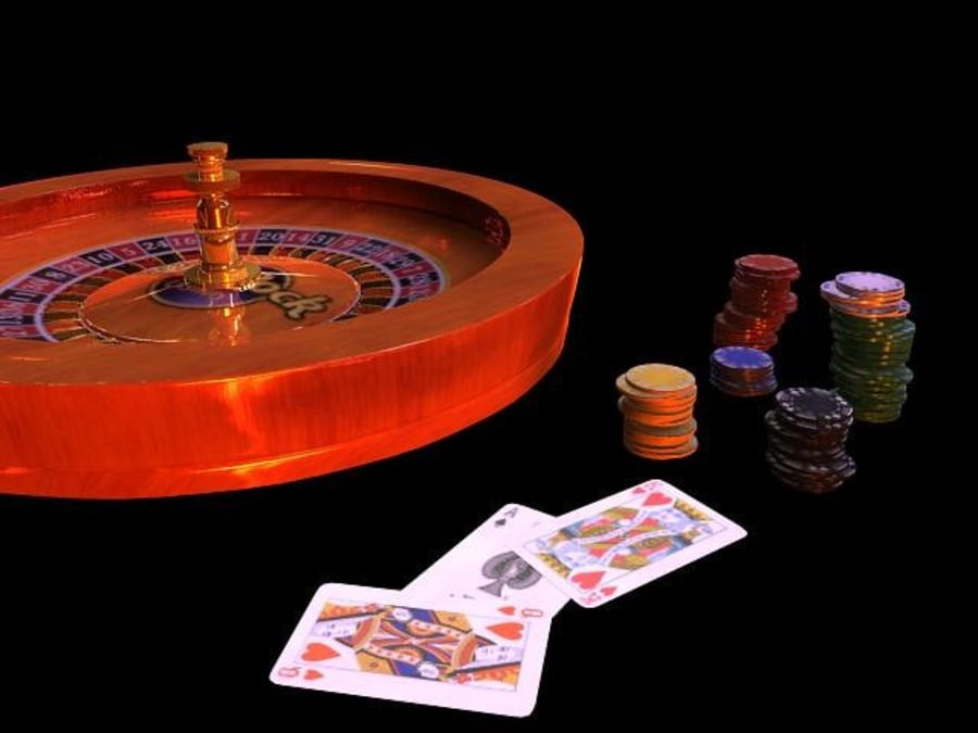 Escena de la ruleta royalty-free modelo 3d - Preview no. 3