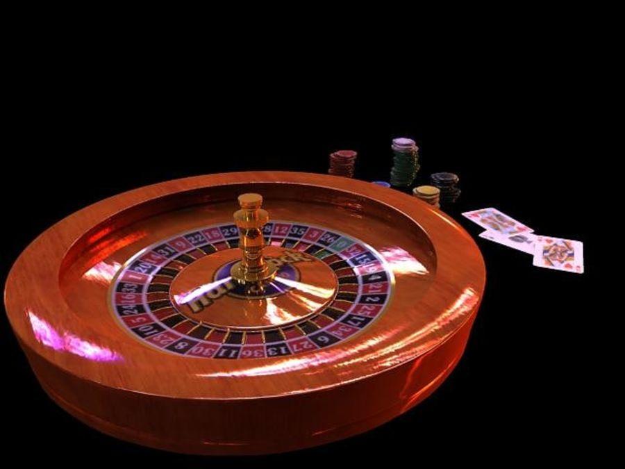 Escena de la ruleta royalty-free modelo 3d - Preview no. 5