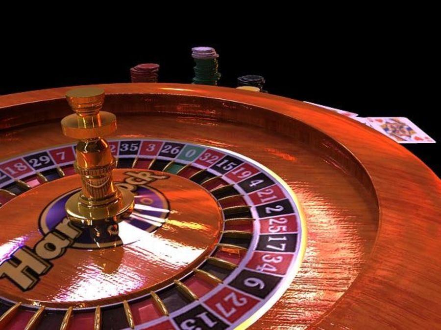 Escena de la ruleta royalty-free modelo 3d - Preview no. 1