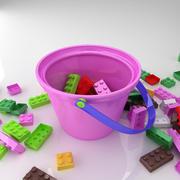 立方体玩具 3d model