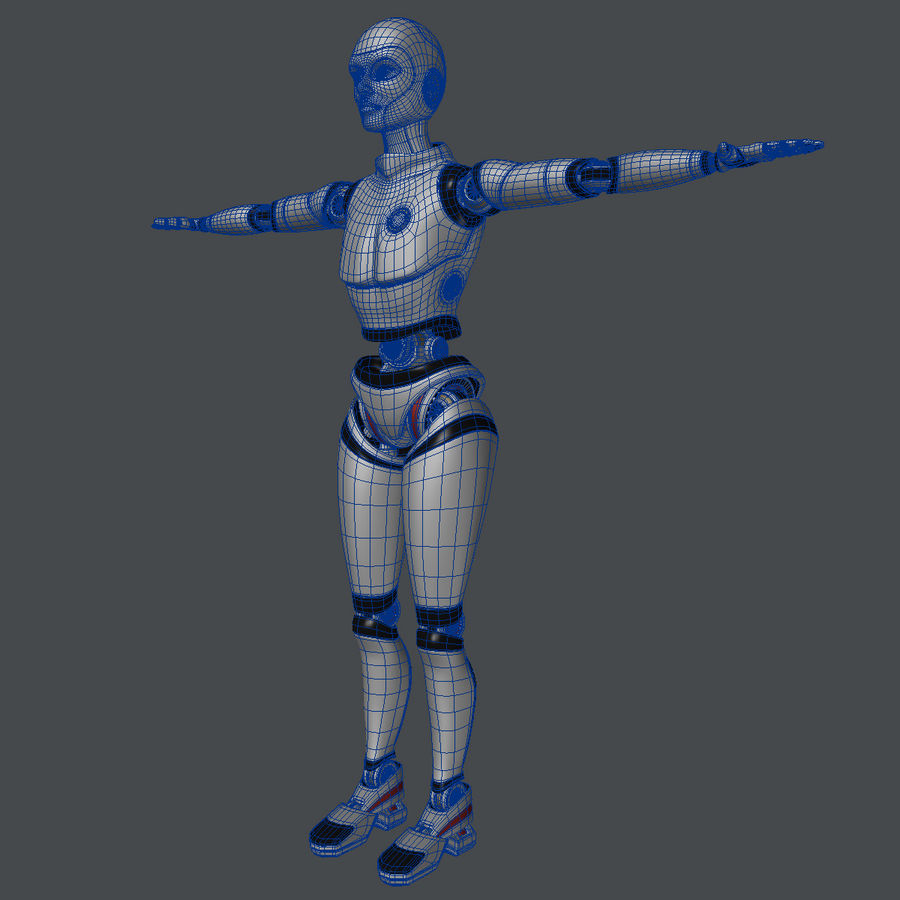 Android royalty-free 3d model - Preview no. 10