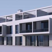 Residenziale 004 3d model