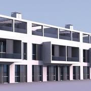 Residential 004 3d model