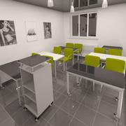 Sala lekcyjna 3d model