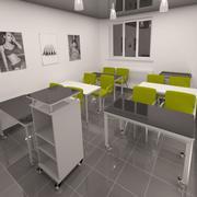 Class room 3d model