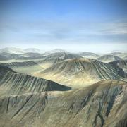 Terrain Mountain Hills 3d model