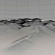 Terrain Mountain Hills 3d model