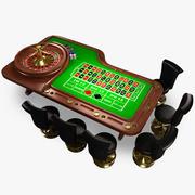 Tavolo da roulette 3d model