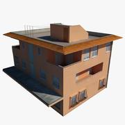 环境建筑 3d model