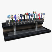 맥주 도청 3d model