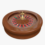 French Roulette Wheel 3d model