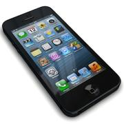 Apple iPhone 5 Black / Slate 3d model