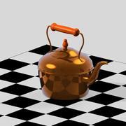 铜水壶 3d model
