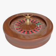 American Roulette Wheel 3d model