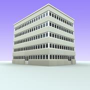 Bürogebäude 5 3d model