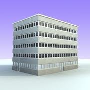 Edifício de escritórios 5 3d model