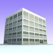 Bürogebäude 6 3d model