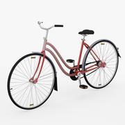 レディー自転車 3d model