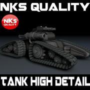 Tank EV - 114 3d model