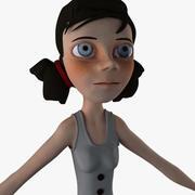 Junges Mädchen C 3d model