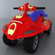 Toy car C 3d model