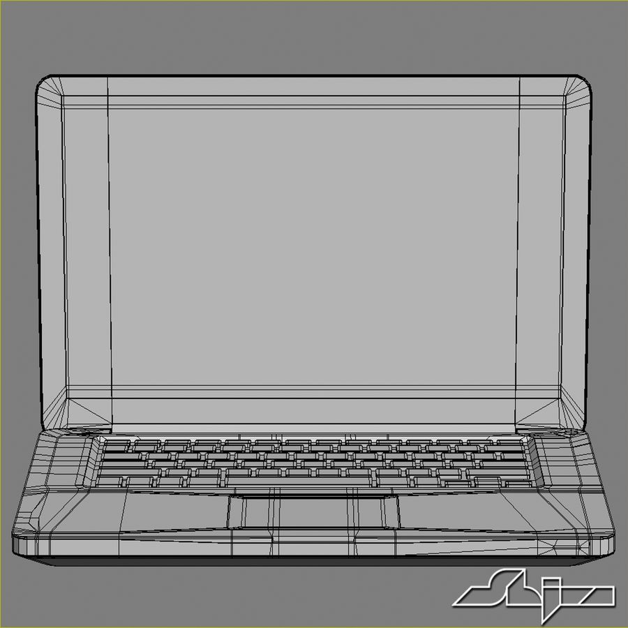 Laptop Apple MacBook Pro 15 royalty-free 3d model - Preview no. 9