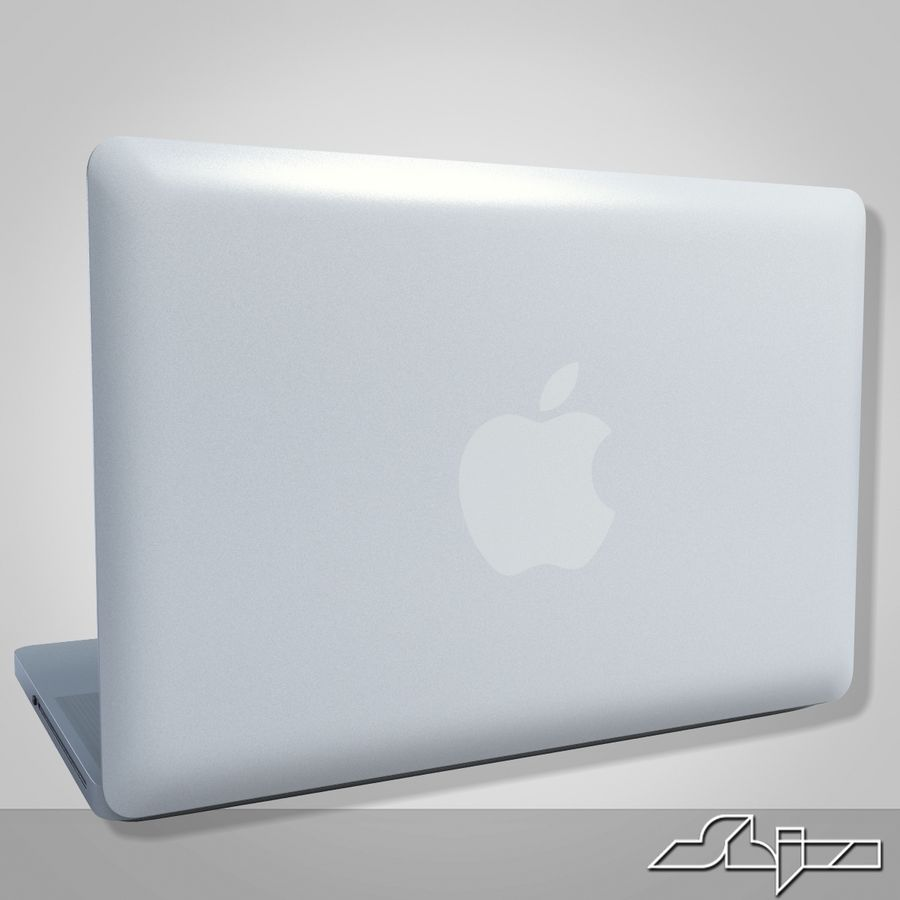 Laptop Apple MacBook Pro 15 royalty-free 3d model - Preview no. 5