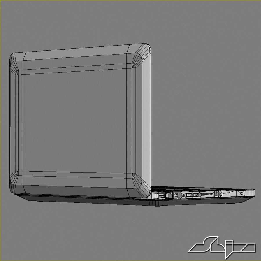 Laptop Apple MacBook Pro 15 royalty-free 3d model - Preview no. 12