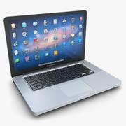 笔记本电脑Apple MacBook Pro 15 3d model