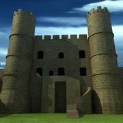 Harlech Castle 3d model