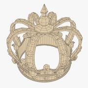 Złota korona 3d model