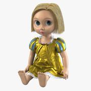 Oyuncak Bebek 3d model