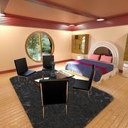 Sovrum 3d model
