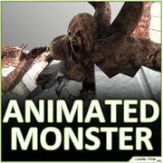 Gigantyczny potwór potwór 3d model