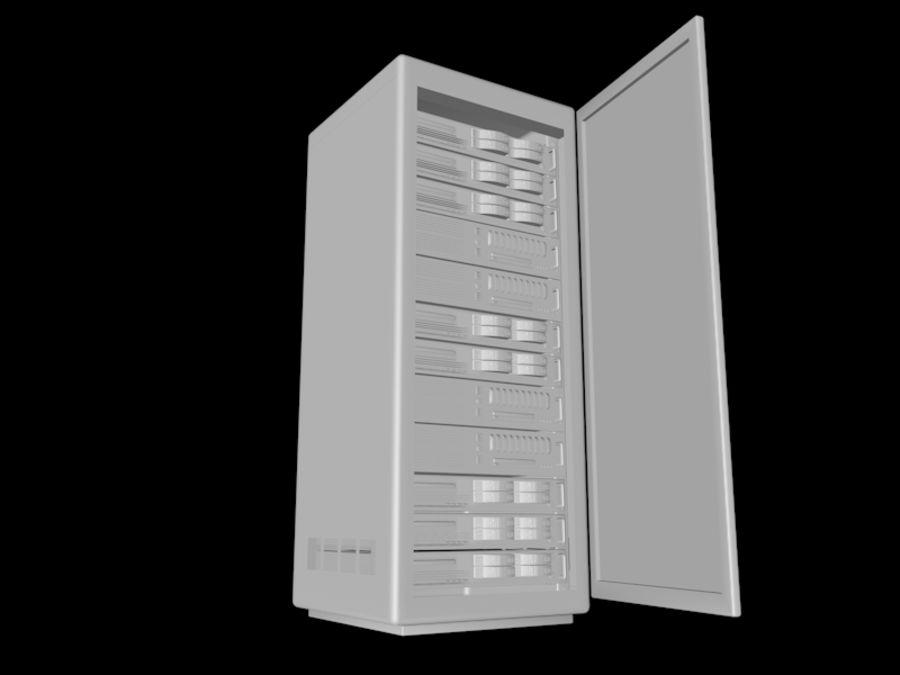 Rack + CPU-paket (3 i 1) royalty-free 3d model - Preview no. 5
