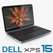 DELL XPS 15 laptop 3d model