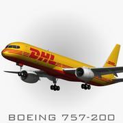 BOEING 757-200 DHL 3d model