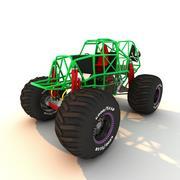 Monster Truck Rahmen 3d model