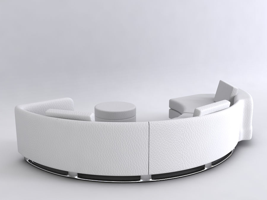 Sofas collection royalty-free 3d model - Preview no. 18