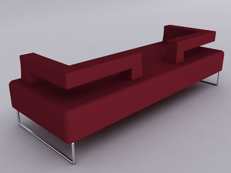 Sofas collection royalty-free 3d model - Preview no. 15