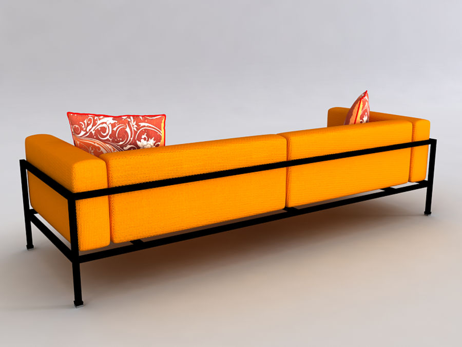 Sofas collection royalty-free 3d model - Preview no. 30