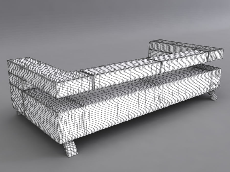 Sofas collection royalty-free 3d model - Preview no. 34