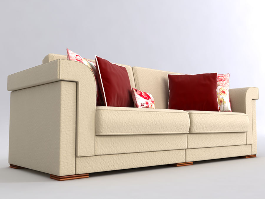 Sofas collection royalty-free 3d model - Preview no. 38