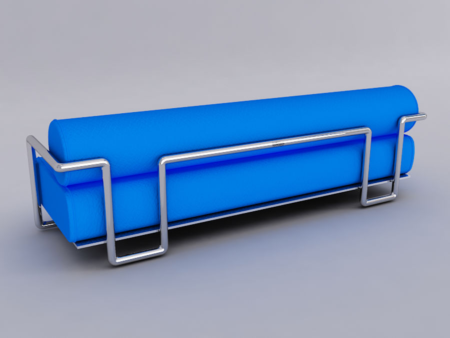 Sofas collection royalty-free 3d model - Preview no. 12