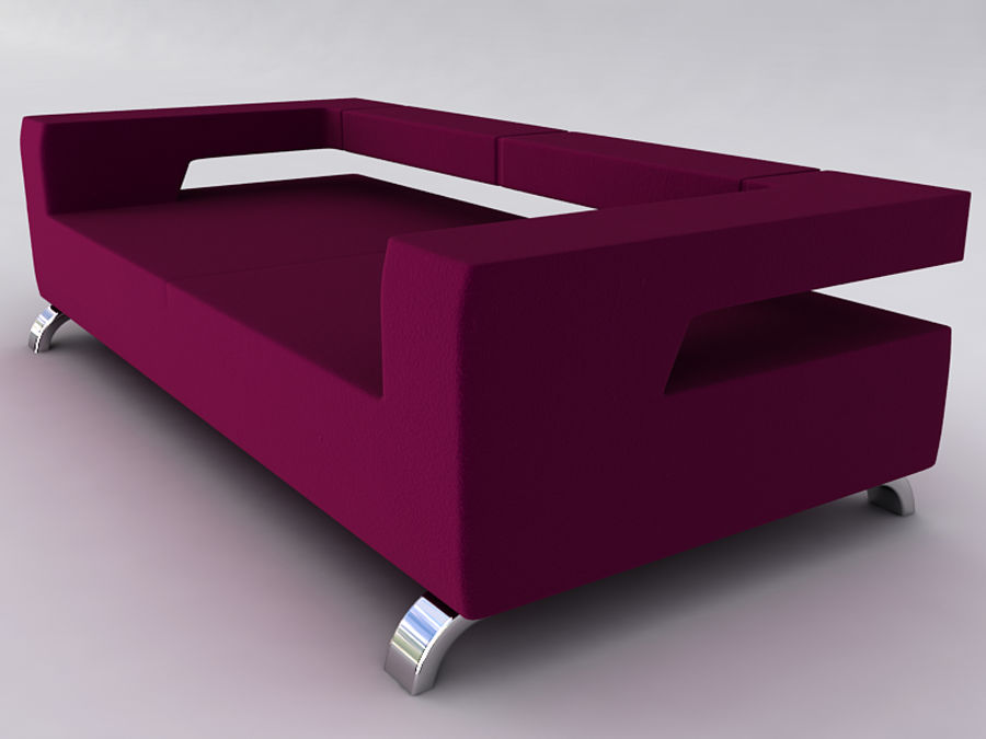 Sofas collection royalty-free 3d model - Preview no. 33